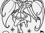 Coloring Glitter Force Pages Printable Popular sketch template
