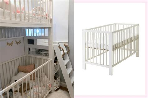 crib bunk bed crib bunk bed from ikea gulliver cots ikea
