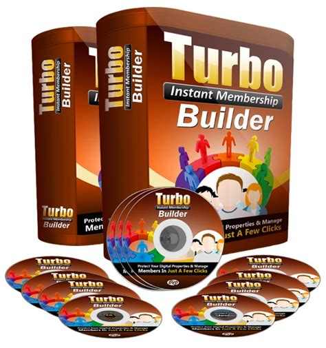 Turbo Instant Niche Templates by Turbo Instant Membership Builder