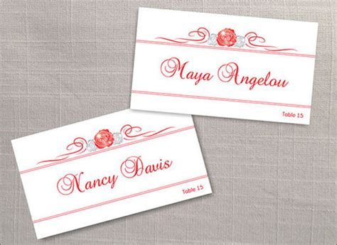 Wedding Name Plate Template by 9 Name Tag Templates Word Free Psd Ai Vector Eps