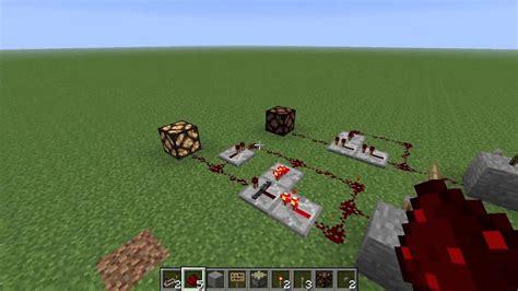 Minecraft Tutorial Logic Gates How Monostable
