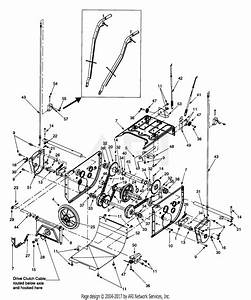 Mtd 31ah5f3f190 Snow Boss 850w  2000  Sb850w  2000  Parts Diagram For Frame Assembly