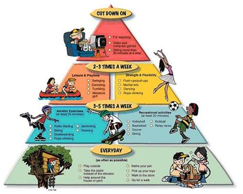 williams j physical activity pyramid 976 | activity pyramid