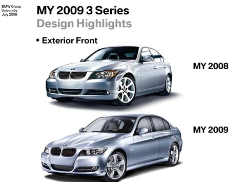 Difference Between 328i And 335i Bmw by 2008 Bmw 3 Series Vs 2009 3 Series Facelift In Images