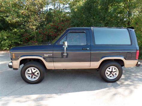 electric power steering 1985 ford bronco on board diagnostic system 1987 ford bronco ii for sale classiccars com cc 1025065