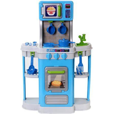Kiddie Kitchen Play Set by Spark Kitchen Play Set 18pc Walmart