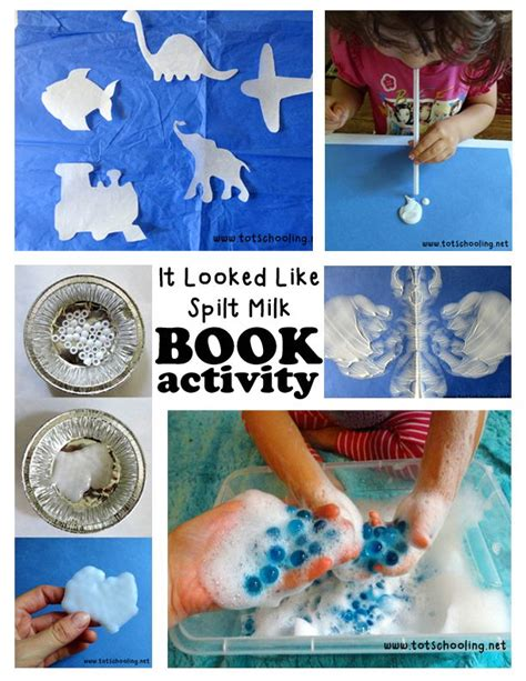book activity it looked like spilt milk book activities 407 | 797afd070612d3474092c6fc7caaa65c