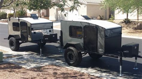 offroad trailer new off road teardrop model hiker trailer