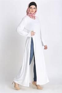 Vs Regular Size Chart Egyptian Bi Slit Shrill Abaya Crystal White Islamic