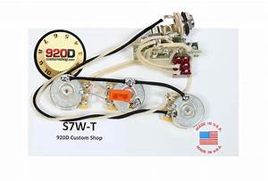 Fender Strat Stratocaster 7 Way Wiring Harness Mini Toggle