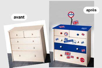 Commode Londres by Stickers Meubles Londres Pour Personnaliser Et Relooker Un