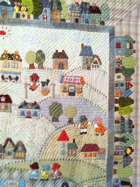 applique country quot country quot by fumiko fujiwara for the quilt