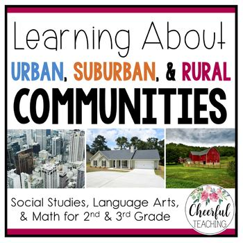 urban suburban  rural communities  powerpoint