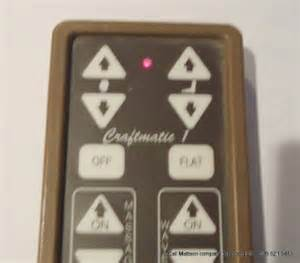 craftmatic adjustable bed hand control wired remote 2 ebay