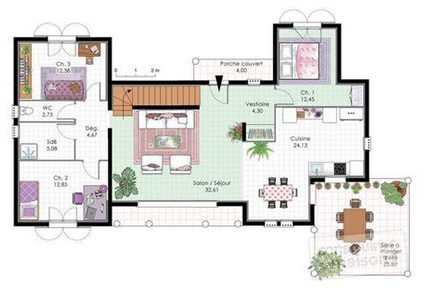 chambre privative avec vaste villa familiale dé du plan de vaste villa