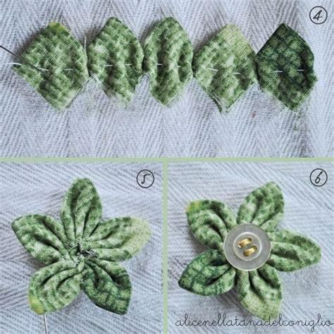 cucito creativo fiori di stoffa la tana coniglio fiori di stoffa bricolage fiori