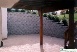 Design Of Basement Retaining Wall by Pictures Of Retaining Walls For Homes Stone Patio Walls