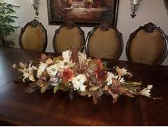 Dining Room Table Centerpiece Arrangements Custom Made Rustic Dining Room Table Centerpiece Floral Arrangement