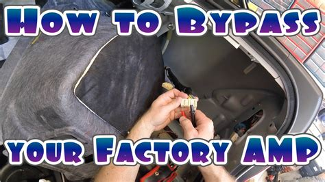 bypass  cars factory amplifier youtube