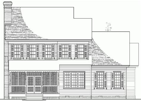 rear view house plans pictures rear view house plans