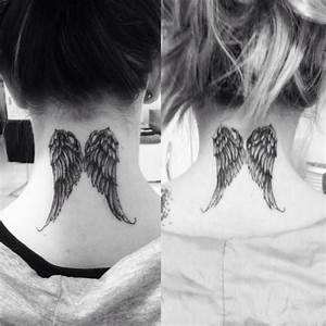 """Tattoo. This under """"I am sending an angel ahead of you to ..."""