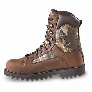 Huntrite Men U0026 39 S Insulated Waterproof Hunting Boots  400
