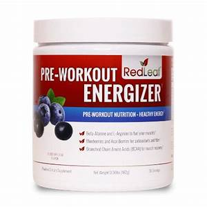 Red Leaf Pre-workout Energizer  Blueberry Acai