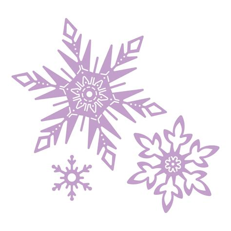 Disney Frozen Snowflake Background by Tattered Lace Dies Disney Frozen Snowflakes