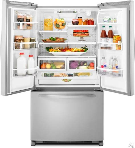 Review Kitchenaid Kbfs25evms French Door Refrigerator