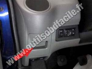 Obd2 Connector Location In Nissan Nv200  2009