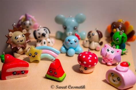 creation pate fimo petits personnages kawaii en fimo sweetcosmetik