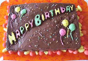 gateau au chocolat original pour anniversaire
