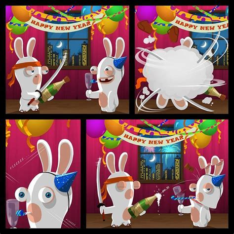 Rabbids Cartoon   Raving Rabbids   Pinterest   Cartoon
