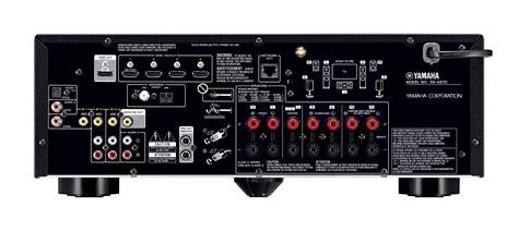 yamaha rx a670 yamaha aventage rx a670 7 2 channel av receiver 80w x 7
