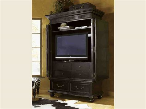 black tv armoire home furniture design