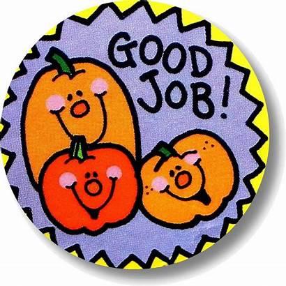 Job Sticker Clipart Clip Cliparts Stickers Very