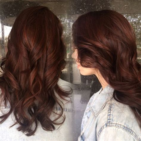 Brunettes With Brown by Auburn With Subtle Highlights Peaking Through