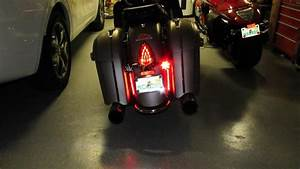 2015 Chieftain Rear Turn Signal Lense Cover  Red
