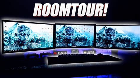 Mein Epic Gaming Room 😱🔥 Gamerbrother Room Tour 2017 Youtube