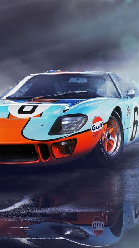wallpaper ford gt front view sports car
