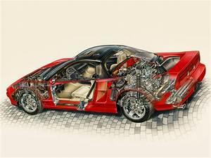 1991 Acura NSX supercar supercars interior engine engines ...