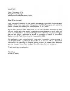 Applying For Any Position Cover Letter General Cover Letter For Any Resume Template Exle