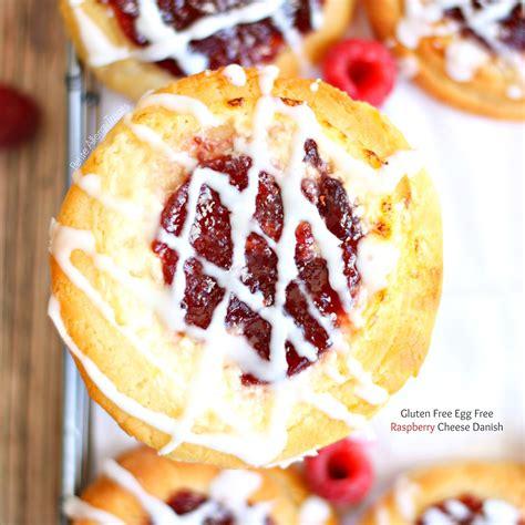 Raspberry Cheese Danish (gluten Free Egg Free Dairy Free