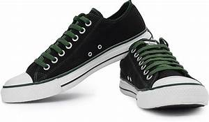 Foot Size Chart Us And India Converse Men Canvas Shoes Buy Black Green Color