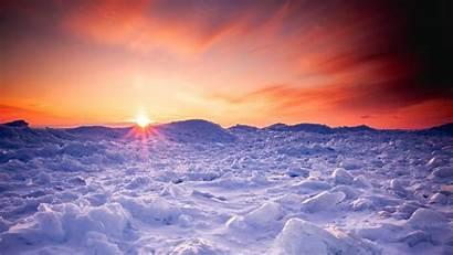 Winter Snow Sunset 1080p Background Ice Fhd