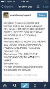 Supernatural Fandom Tumblr