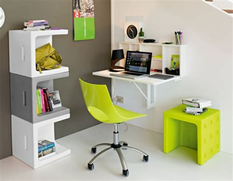 bureau encastrable le bureau escamotable décisions pour les petits espaces