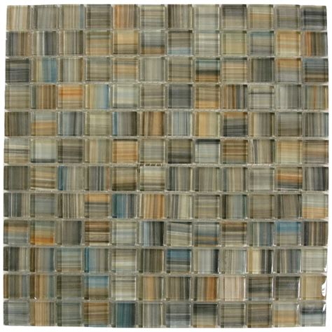 american olean glass tile backsplash shop american olean delfino glass galaxy glass mosaic