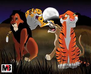 Scar (The Lion King), Sabor (Tarzan), Zira (The Lion King ...
