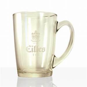 Tee Im Glas : eilles tee becher aus glas mit henkel 0 3l 6stk weiteres geschirr aus porzellan und glas ~ Markanthonyermac.com Haus und Dekorationen